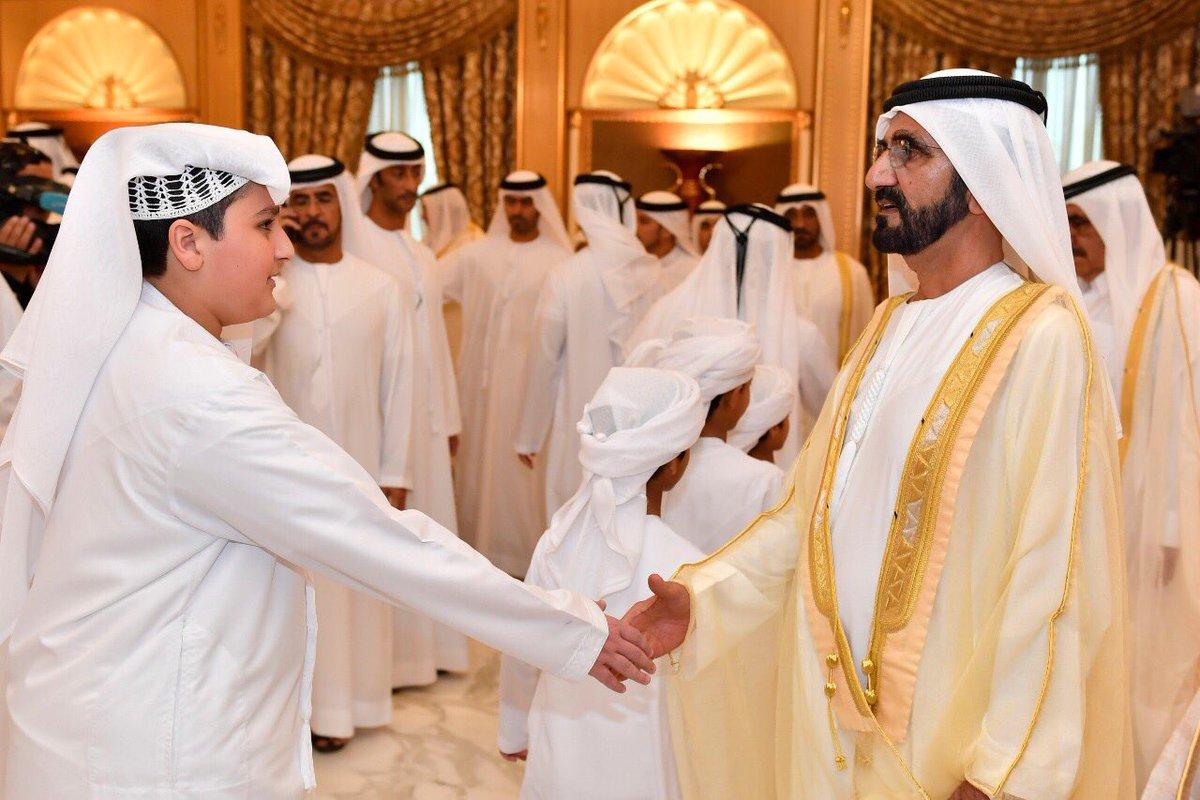 Toyeen B's World: Photos: Dubai King & Ruler today receives