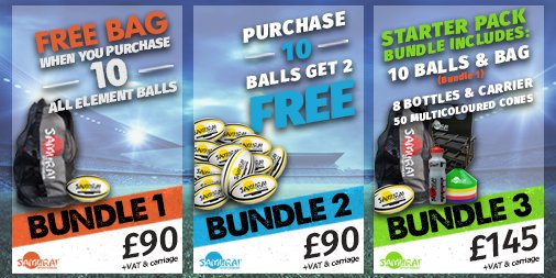 test Twitter Media - Need new rugby balls for the season? Check out our great value bundle offers >> https://t.co/FHl2jxoeLc  #SamuraiFamily https://t.co/u9yT04OcaD