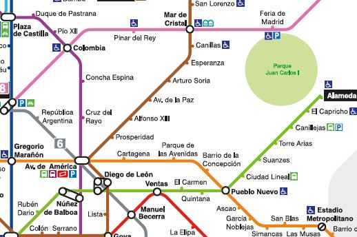 Metro De Madrid A Twitter A Partir De Manana Campo De Las