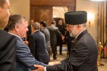 His Majesty @KingAbdullahII receives Eid Al Fitr well-wishers at Al Husseiniya Palace.  #Jordan <br>http://pic.twitter.com/xCZnbXqZl0