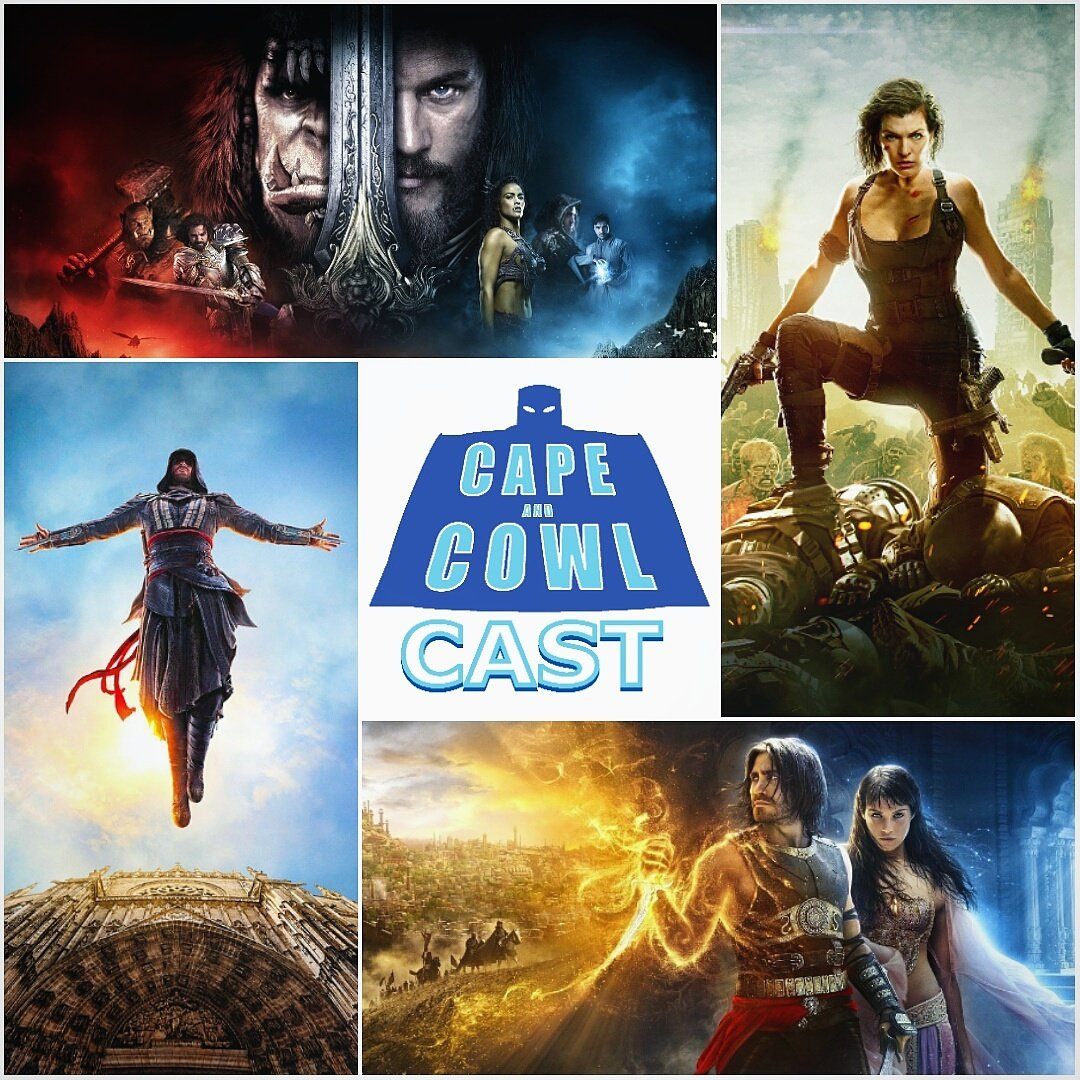 We take on &quot;The Video Game Movie Curse&quot; in our latest #podcast check it out now @  http:// capeandcowl.podbean.com  &nbsp;   and on iTunes    #gaming #film <br>http://pic.twitter.com/Nw2Sq1fqez