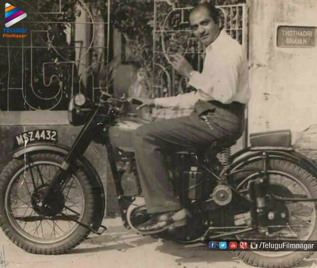 From the Archives:  The legendary #SVRangaRao Garu!  #throwback #flashback <br>http://pic.twitter.com/DEBv5WyW2v