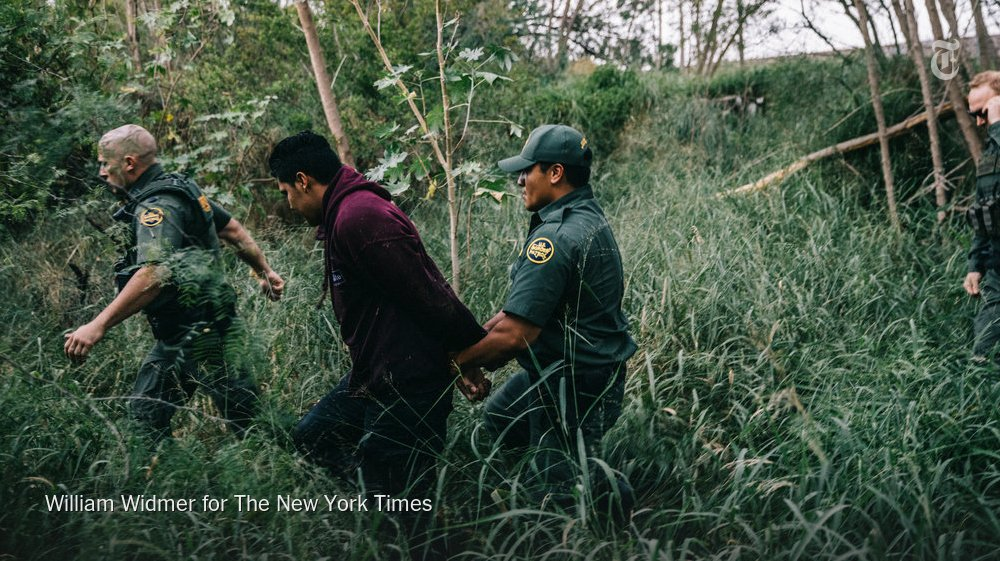 Federal agents are using equipment the Pentagon brought back from Afghanistan to stop illicit crossings from Mexico https://t.co/tKKTFuAjxi