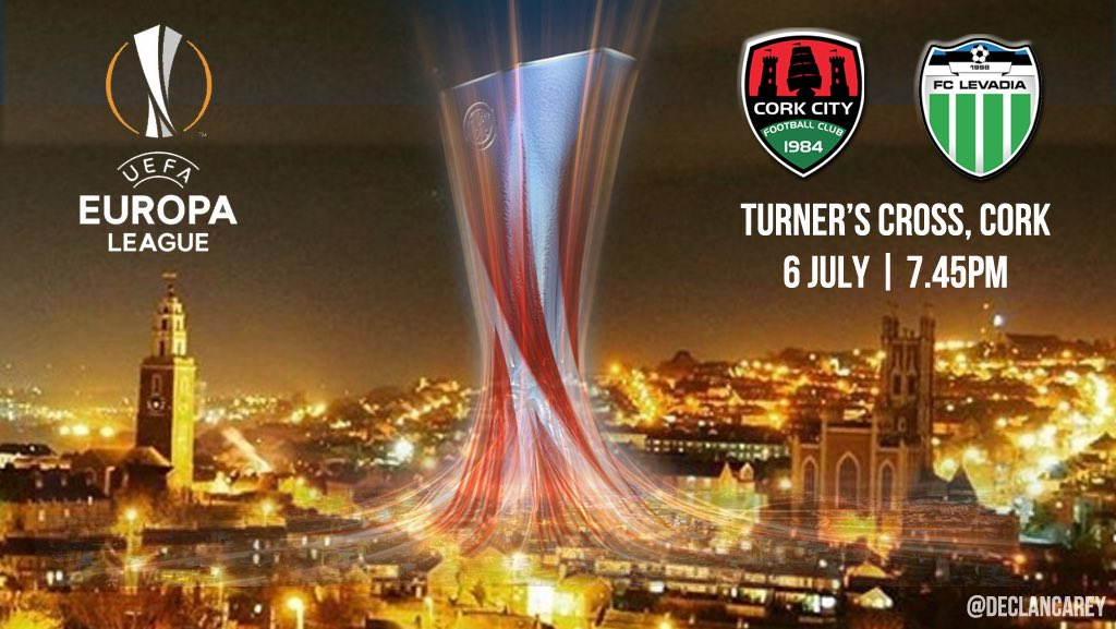 European football returns to Cork on July 6! #CityInEurope #ccfc84 #UEFA #EUROPALeague <br>http://pic.twitter.com/vh8l82ASdy