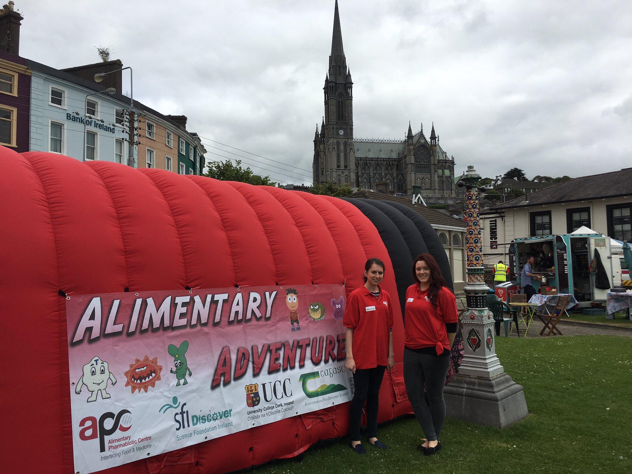 APC Microbiome Ireland On Twitter TedDinan Youre Not Hallucinatingalimentaryadventures Is The Promenade At Cobh Vitality Festival