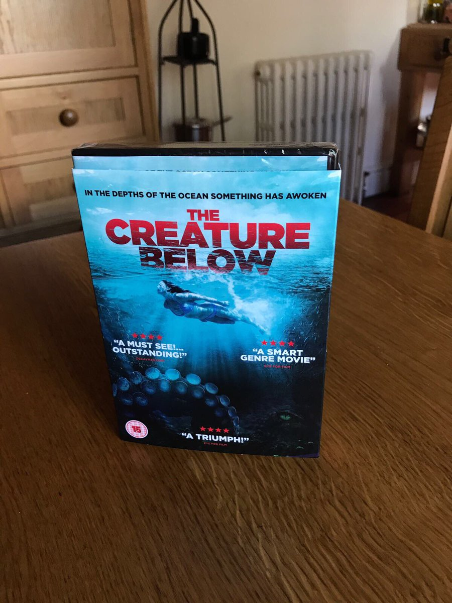 My parents got their copy, have you got yours?!! The @creature_below #DVD is out now on UK Amazon! #film #actress #surreal #horror<br>http://pic.twitter.com/dCtvODdgVr