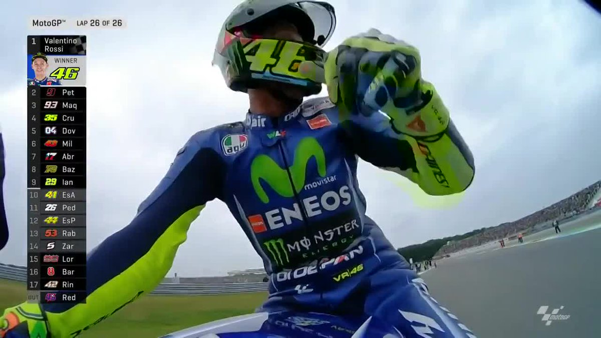 #VR46 WINS! He OFFICIALLY has the longest winning career through ALL c...