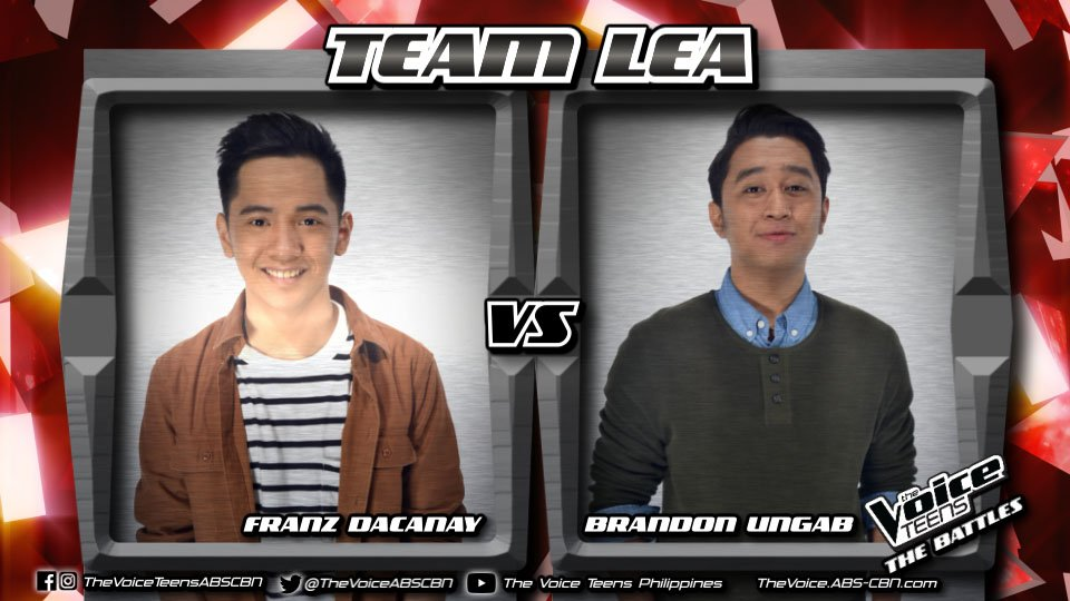 Franz versus Brandon with Jay-R Siaboc's 'Hiling' #VoiceTeensLastBattL...