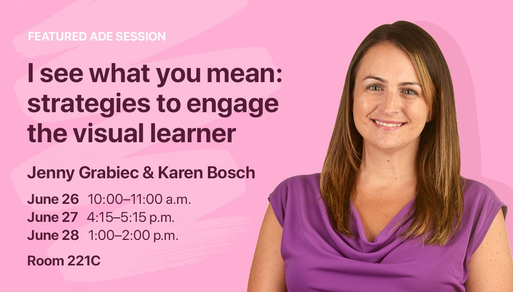 Don't miss our ADEs @JennyGrabiec & @KarlyB at #ISTE17! https://t....