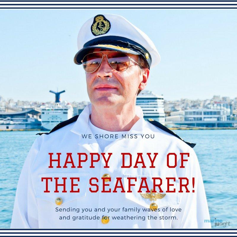 Happy Seafarer's Day! #SeafarersMatter https://t.co/gAz7Hqad4S