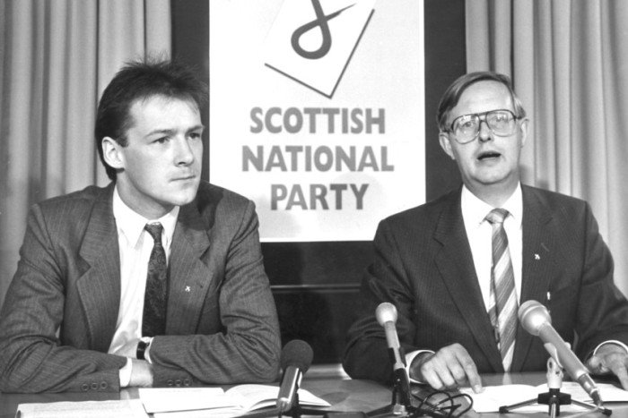 Tributes paid to Gordon Wilson, former leader of @theSNP, who has died...