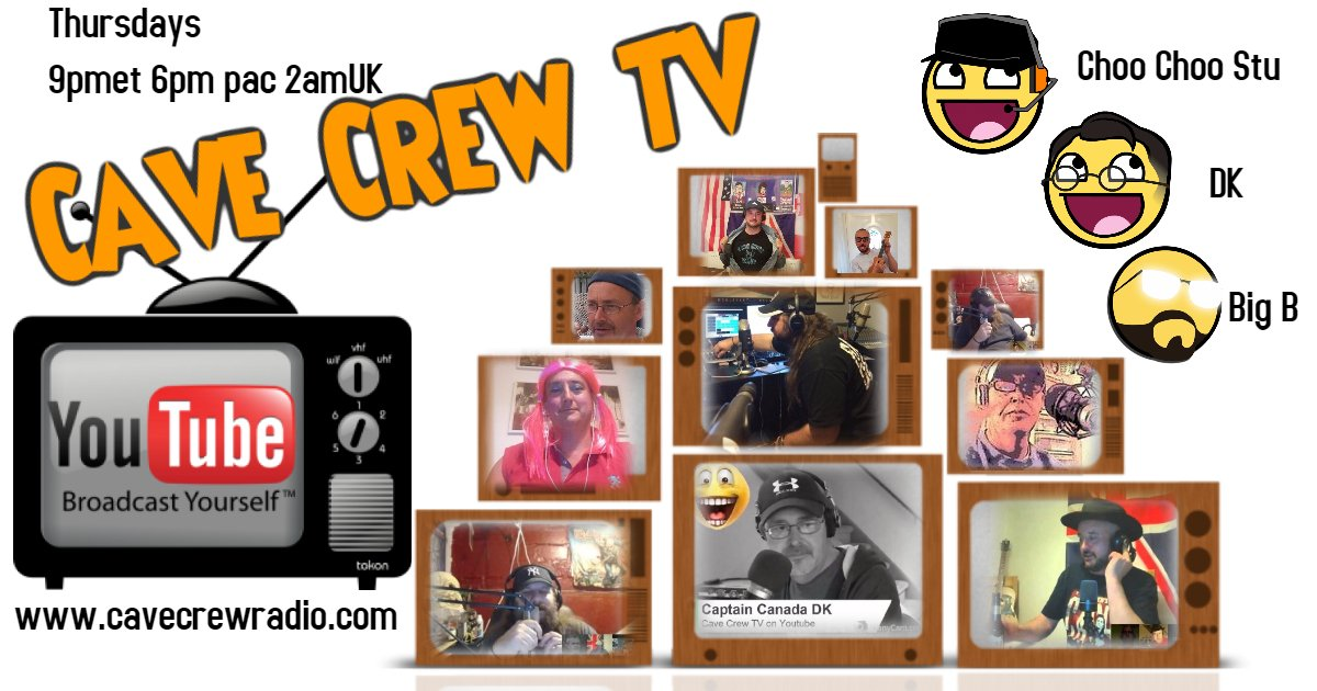 Please watch and subscribe to Cave Crew TV    https://www. youtube.com/channel/UCv8gX BK9sQoM89TdgPTnIbA &nbsp; …   #PodernFamily #livestreaming #ondemand #NowPlaying #youtube <br>http://pic.twitter.com/RdcO6XbV7S