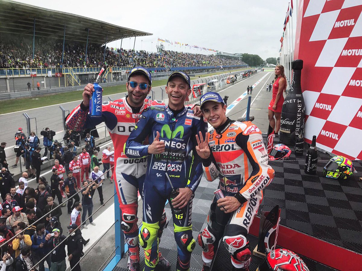 🏁 #DutchGP Results  🇮🇹 #VR46 🇮🇹 #DP9 🇪🇸 #MM93  #MotoGP full list: http...