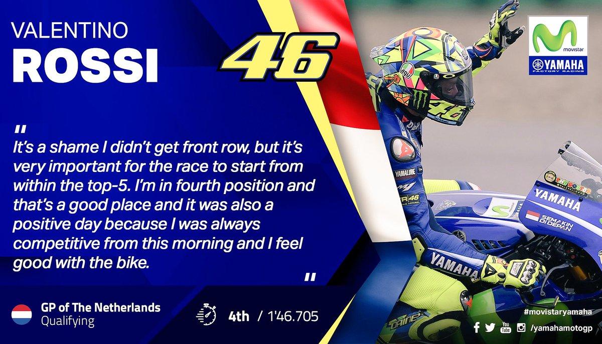 @ValeYellow46  is the best #ValentinoRossi #yamaha #Movistar #MovistarYamaha #MotoGP #Championship #AssenGP #Netherlands <br>http://pic.twitter.com/OGHvNgJ3D7