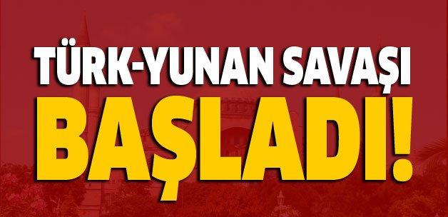 Flaş... Flaş... Flaş... Türk-Yunan savaşı başladı! https://t.co/2oqBsp...