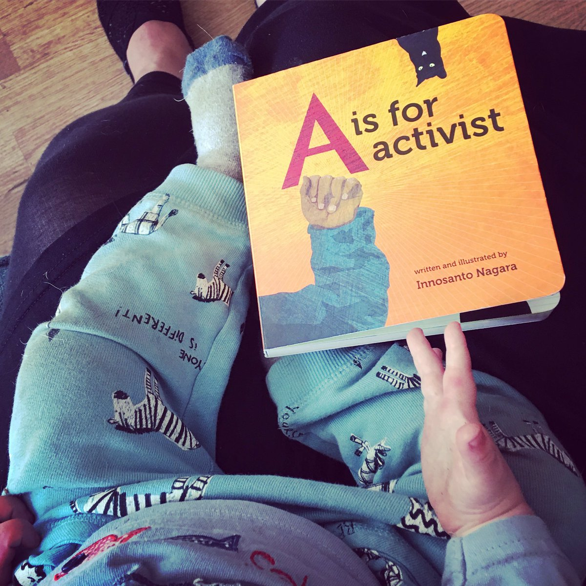 start them young #storytime #aisforactivist great find for #baby at the #LRBF17  #activist #ChildrensBooks @ARBRadBookfair <br>http://pic.twitter.com/tytmKb9Kk3
