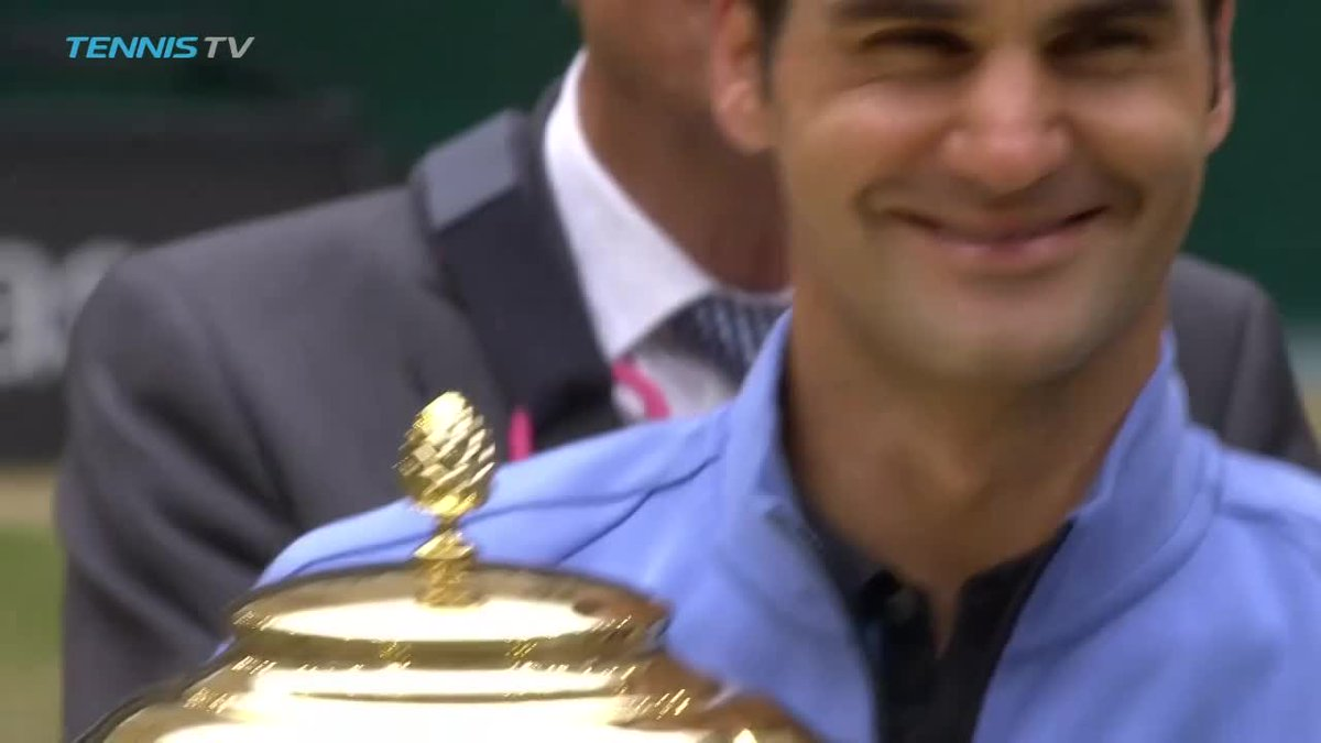 The 👑 of Halle   #GerryWeberOpen https://t.co/bPLXJtafLw