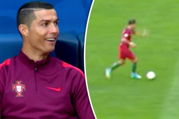 #Ronaldo gob-smacked by THIS incredible goal by Portugal team-mate Silva in Confederations https://t.co/lFa9cBbsup #Portugal #confed17