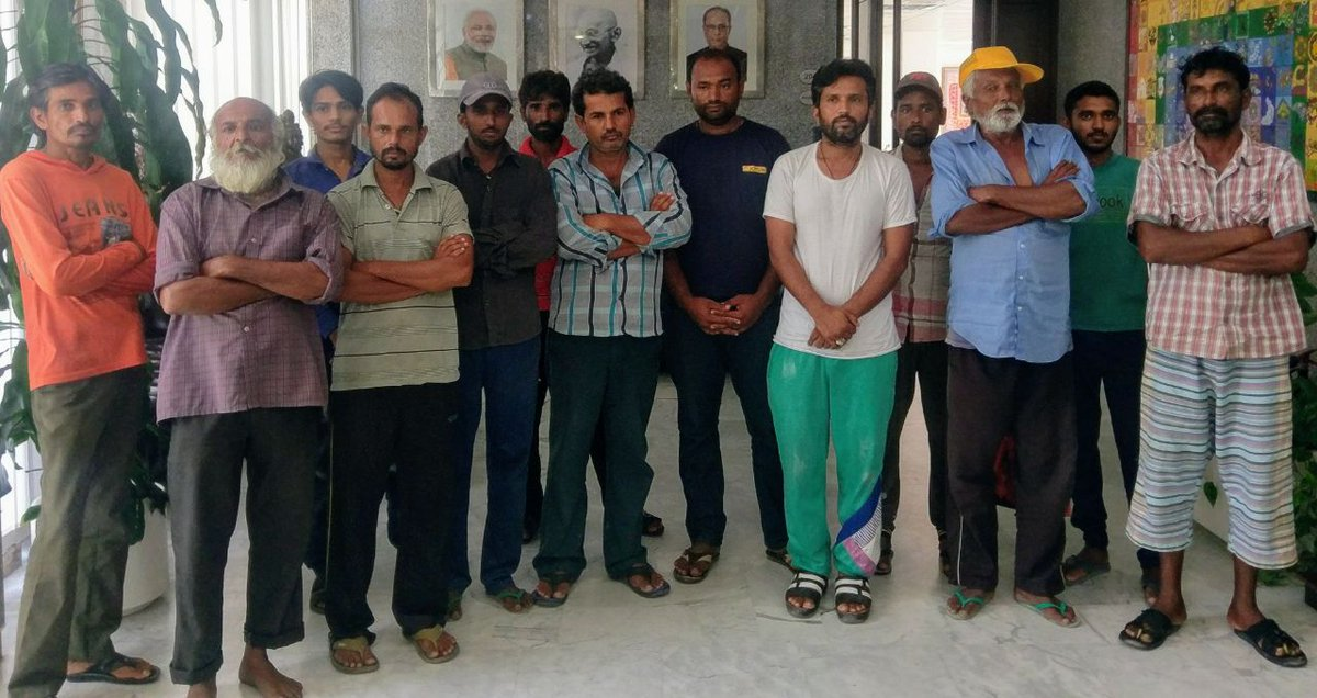 Ahead of Eid, Indian consulate in Dubai facilitates return of 13 sailors from Gujarat stuck in UAE for last two months