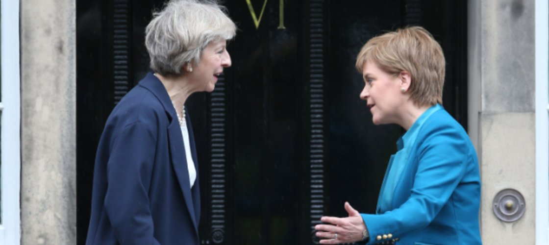 At #2: Scottish Parliament could have the power to block Brexit, Theresa May reveals https://t.co/fU2saLwNIN