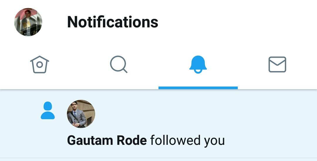 OMGCan&#39;t Believe Myself Our Superstar @gautam_rode  #GautamRode Followed Us N That Means A Lot To Us.Thank U For Ur Support Us From #Egypt <br>http://pic.twitter.com/CnHmtiU3Rd