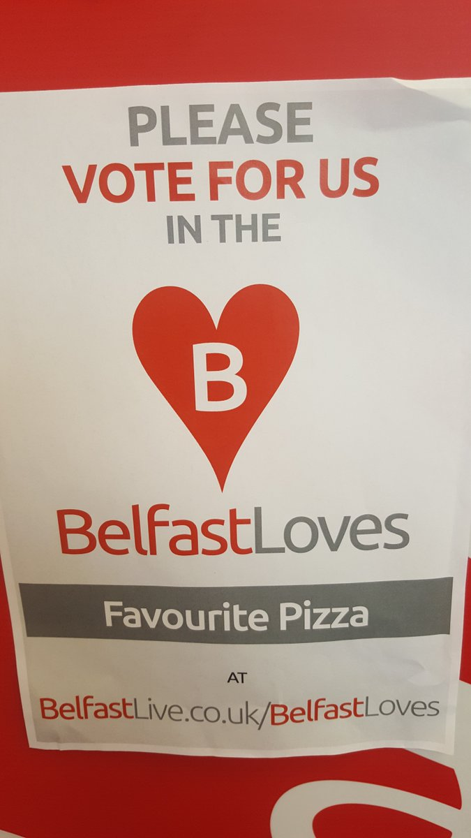 Love Pizza Belfast On Twitter Today Is The Last Day To