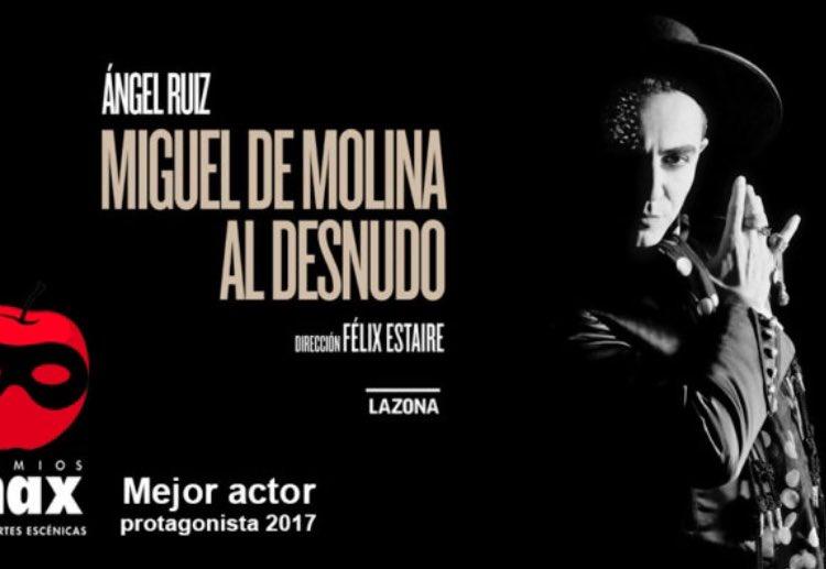 """Vuelve """"Miguel de Molina al desnudo"""""""