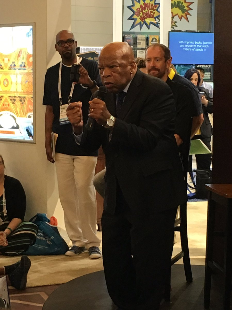 .@repjohnlewis says childhood librarian set him on the course toward r...
