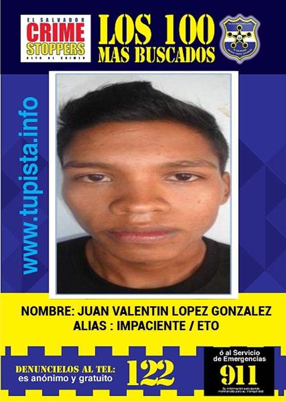 ... Valentin Models Rhythm; Pnc El Salvador On Twitter Sebusca A Juan  Valentín López ...