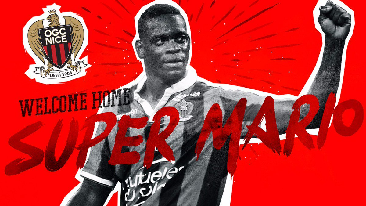 🚨 OFFICIAL: @ogcnice_eng are delighted to confirm that Mario #Balotell...