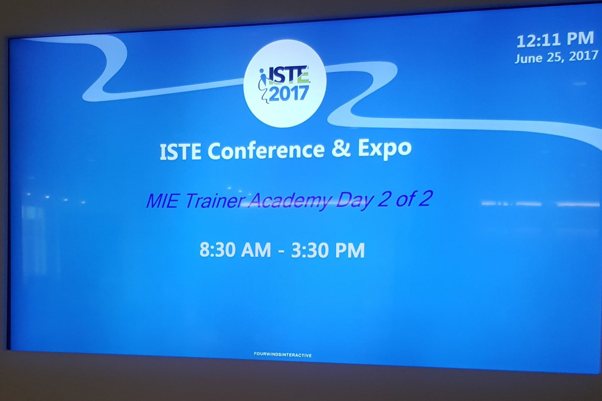 Being a #MicrosoftTeams #pioneer by learning deeper @MicrosoftEDU #ISTE2017. Love the possibilities! Thanks @arbar13  https:// education.microsoft.com/courses-and-re sources/resources/meet-microsoft-teams &nbsp; … <br>http://pic.twitter.com/VDkOYO12cV &ndash; bij Henry B. Gonzalez Convention Center