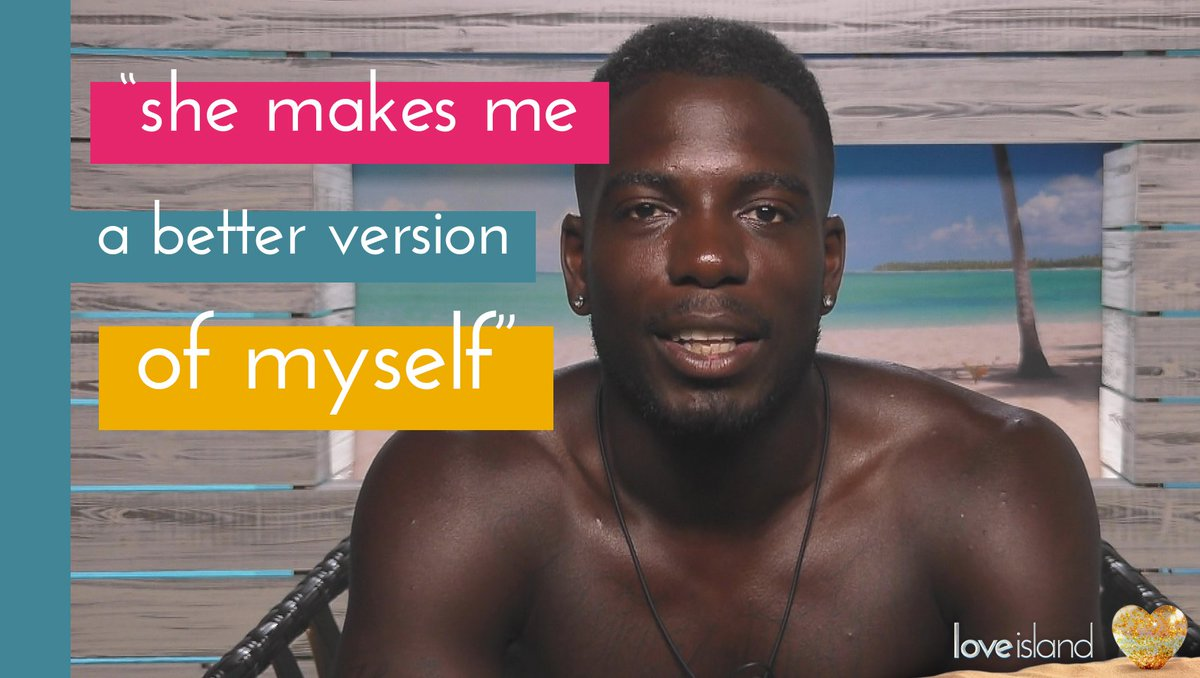 Aww he's so in luuuuurve! 😊😊😊 #LoveIsland https://t.co/TbJvxlxVms