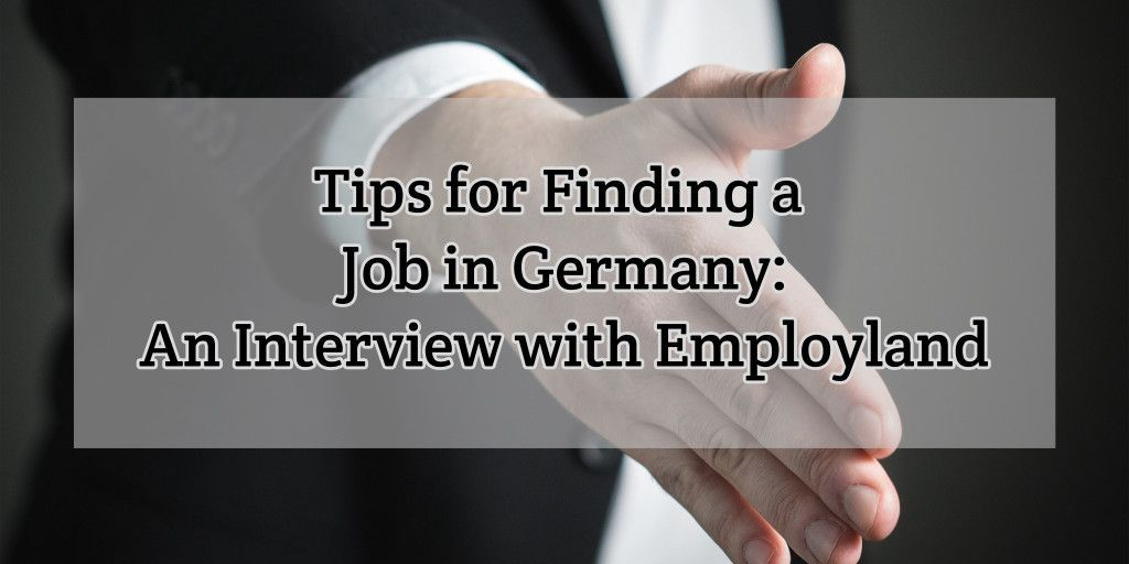 A great interview with Hamburg-based startup @employland. Tips for job hunting! #visa #immigration #work #Germany  http:// liveworkgermany.com/2017/05/tips-f or-finding-a-job-in-germany-interview-employland/ &nbsp; … <br>http://pic.twitter.com/hxztPMVlNh