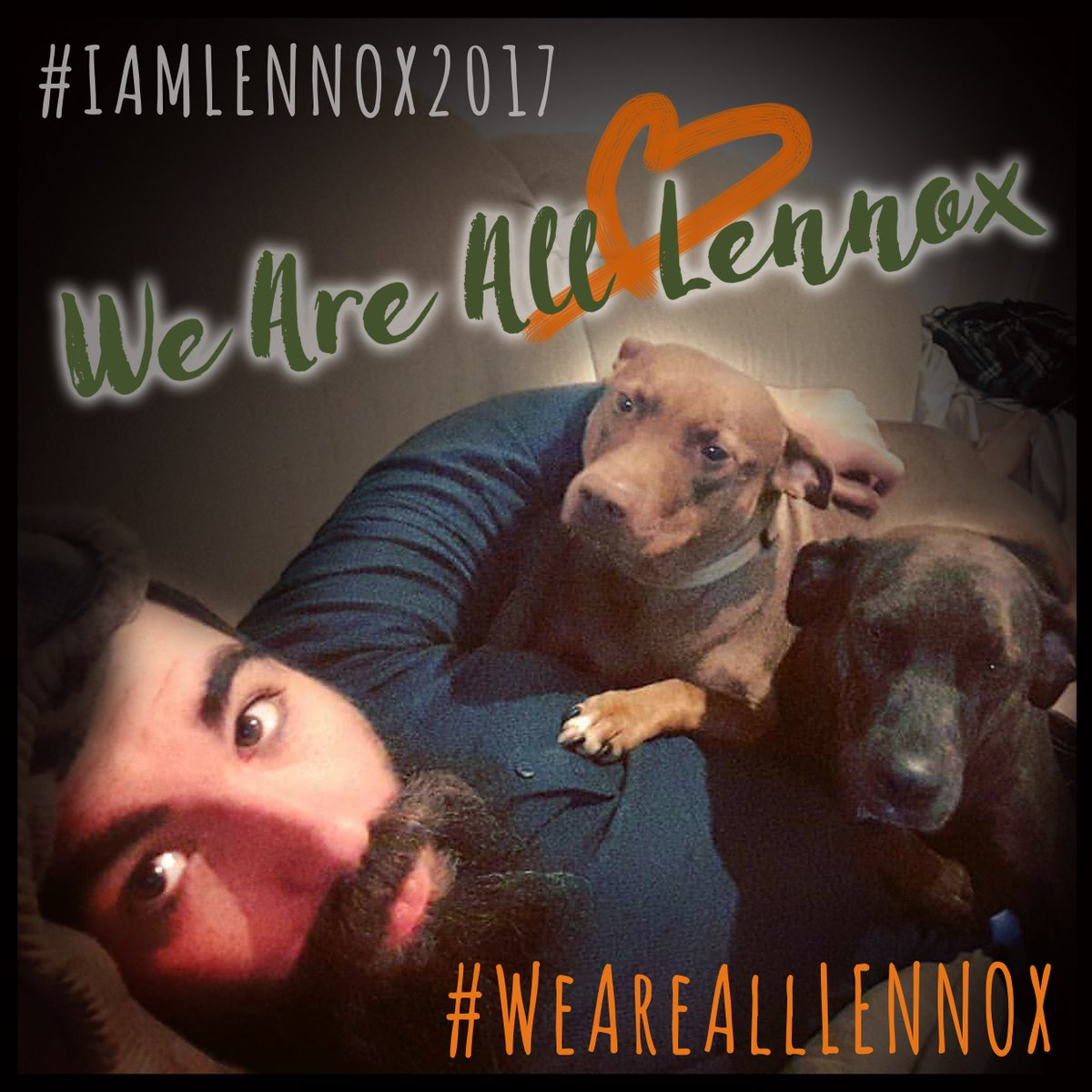 My dogs are a part of me &amp; #BSL hurts us all #EndBSL #WeAreAllLennox #WUABSL #GetTough #DontBullyMyBreed #SpreadLove #polqc #NoToBill128<br>http://pic.twitter.com/WWl0tTHN4T