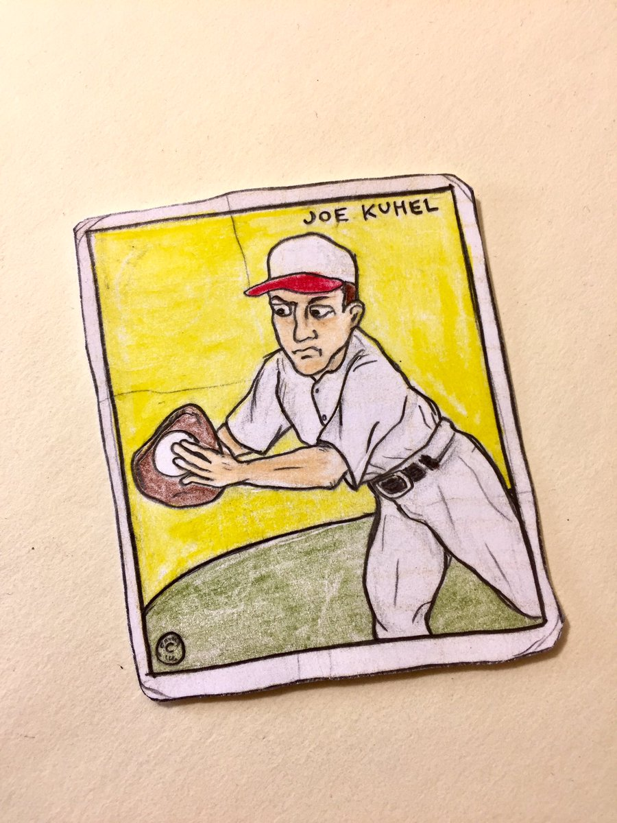 Joe Kuhel, first baseman and amateur magician, born on this date in 1906. #Senators #WhiteSox<br>http://pic.twitter.com/vP3Xwdurw8