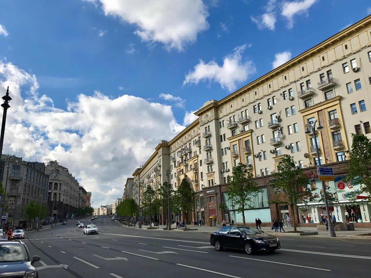 Картинки москвы улицы и домами