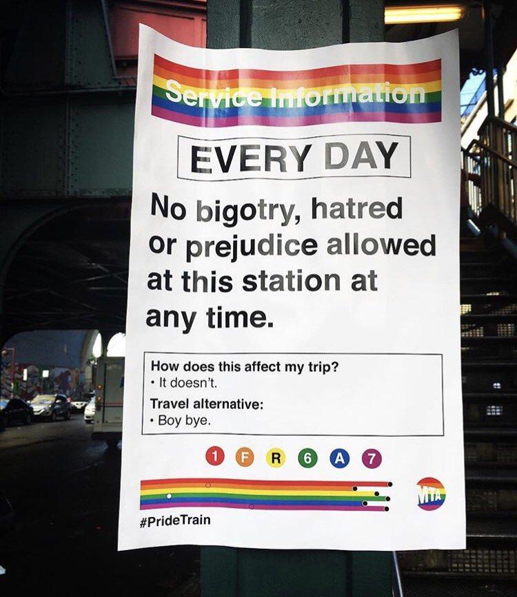 Today's #SignOfResistance.  #Pride2017  📷: @la_booge https://t.co/Fe5P...