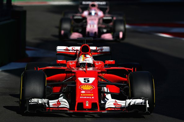 BREAKING: Sebastian Vettel given 10-second stop and go penalty at Azer...