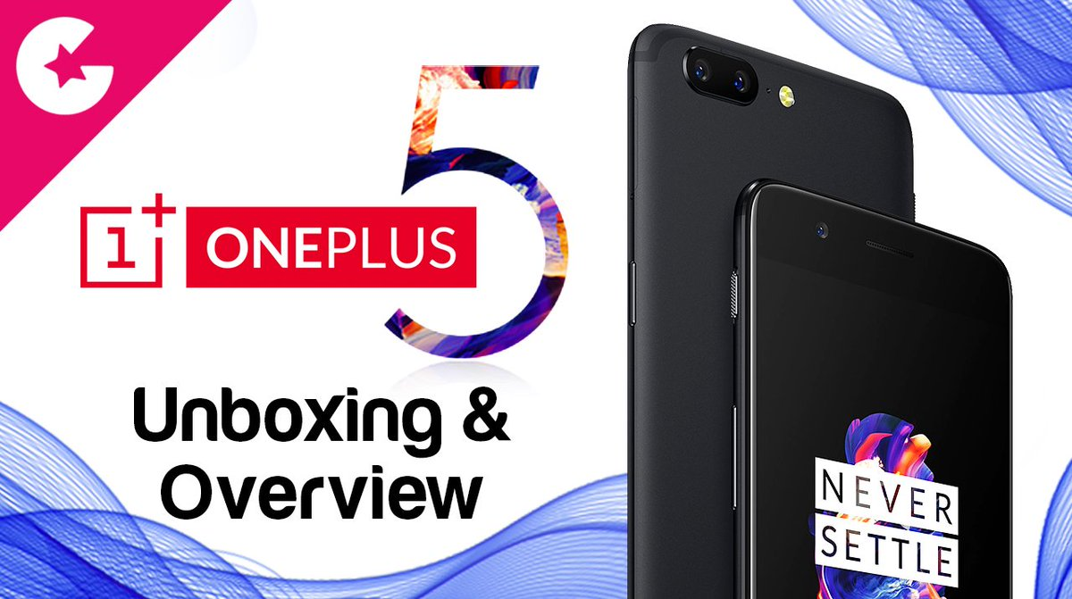 Checkout the Unboxing &amp; Hands on of OnePlus 5 8GB Ram, 128GB Midnight Black  https:// youtu.be/3ehxaVU--QE  &nbsp;   #Gadgetgig #youtube #oneplus #oneplus5<br>http://pic.twitter.com/CKlxcdeF4P
