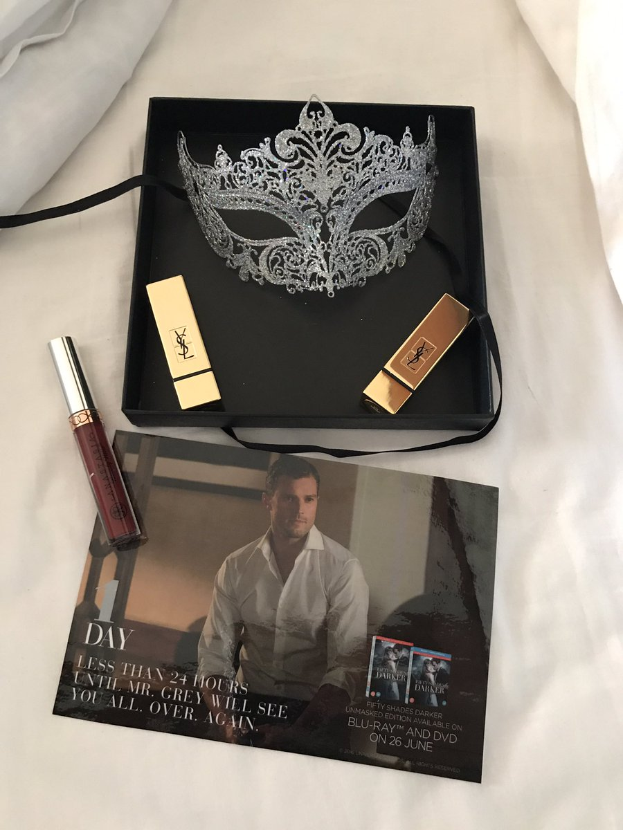The countdown is nearly over-1 more day until #FiftyShadesDarker is released on Blu-ray and DVD, this countdown box is nothing but grey #ad<br>http://pic.twitter.com/EpgTTpELWH