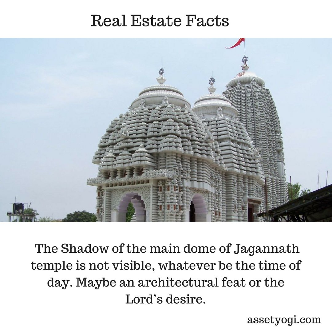 The Shadow of the main dome of Lord Jagannath temple is not visible, whatever be the time of day. #Architecture #RealEstate #Fact<br>http://pic.twitter.com/sWgV15eFrW