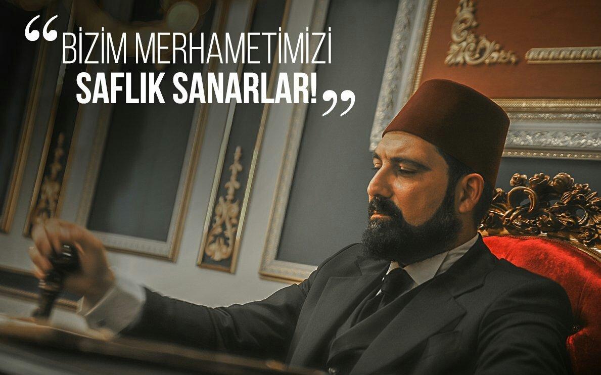 """""""Lakin en sonunda hak davaya sadık olanlar kazanacak!"""" #PayitahtAbdülh..."""