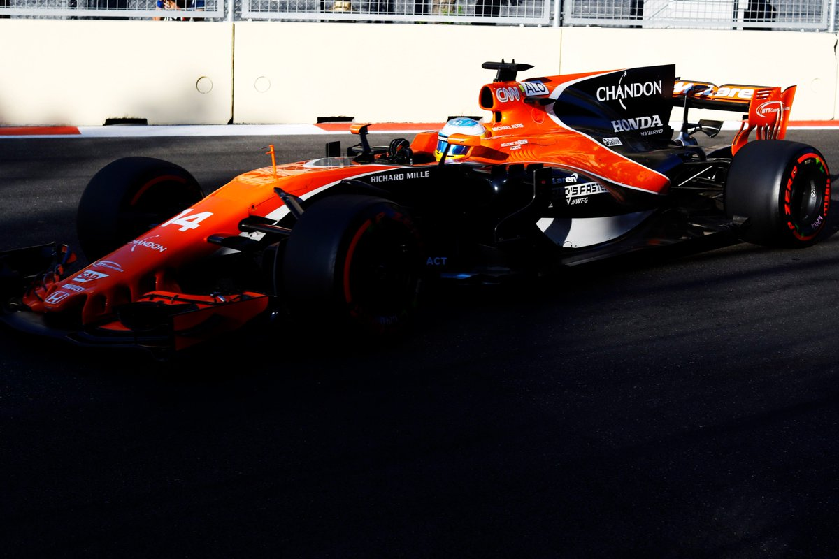 Fernando P19 ➡️ P9. Great drive from @alo_oficial as he brings home po...
