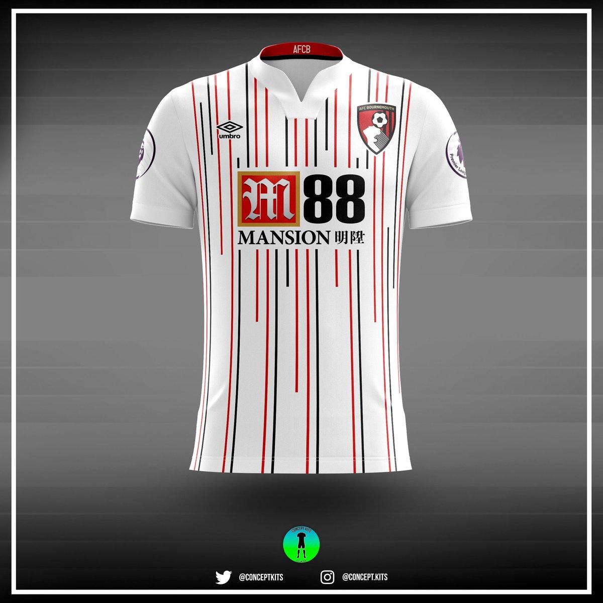 AFC Bournemouth third kit concept 2017/18 #AFCB #Cherries #Bournemouth #DeanCourt #umbro #premierleague #PL #EddieHowe #AFCBournemouth<br>http://pic.twitter.com/bq33aB4LKX