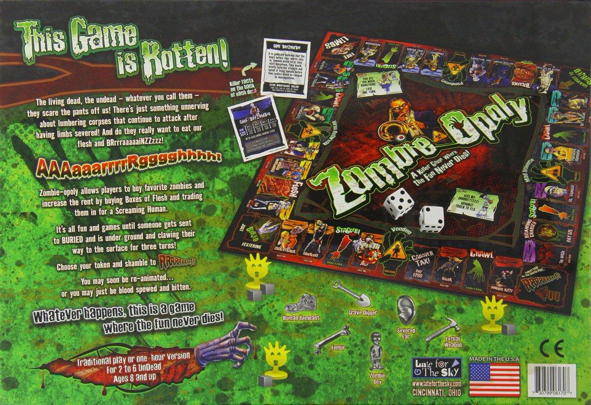 Zombie-Opoly Board Game https://t.co/GU0cDokbiQ #GameNight #TWD #TheWa...