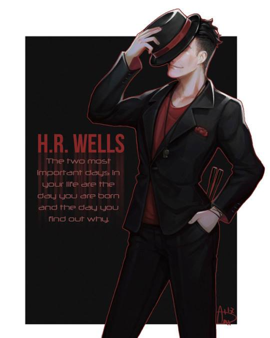 Such an amazing piece on HR Wells that i couldn&#39;t help but share(FBfind)credit to owner #HR #TheFlash<br>http://pic.twitter.com/uTpkFXlygQ