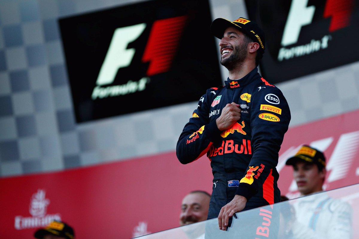 F1 GP Azerbaijan: Ricciardo vince a sorpresa a Baku. Scintille tra Vettel e Hamilton