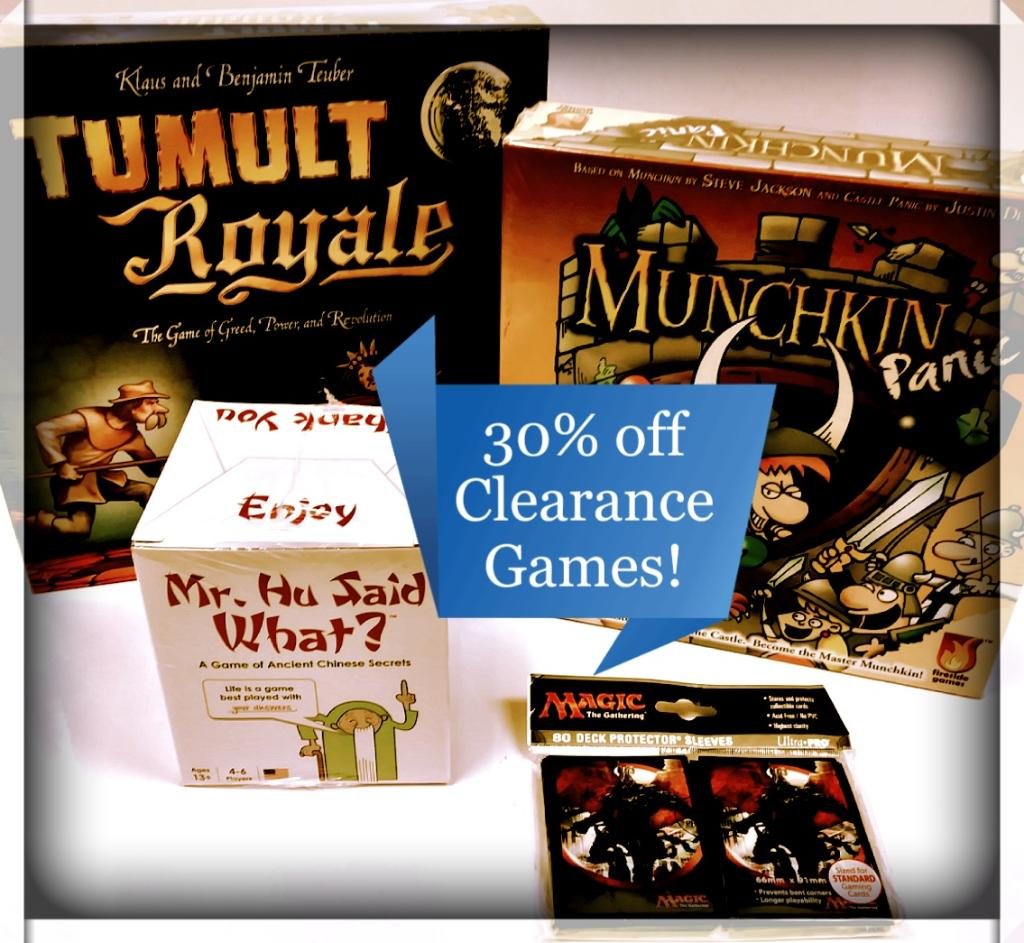 Schedule your Game Night with 30% off Clearance from Barnes & Nobl...