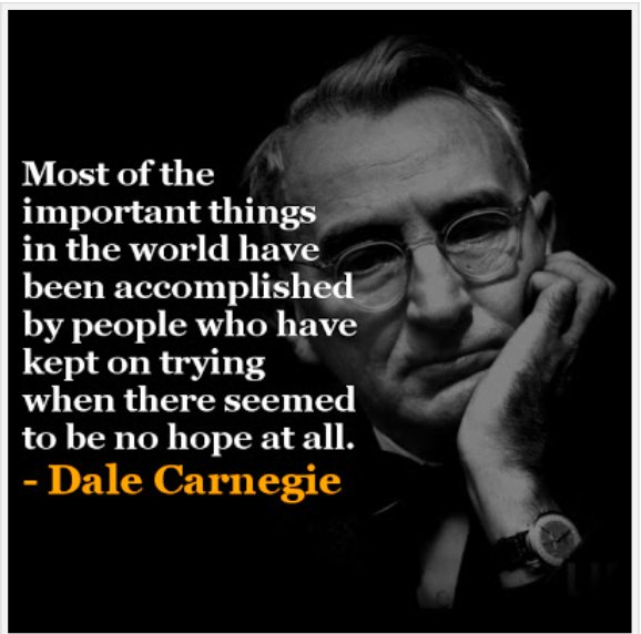 Most of the important things in the world have been accomplished by people who have kept on trying ... | #quote #coach #motivate #inspire<br>http://pic.twitter.com/M2XzLvVP3w