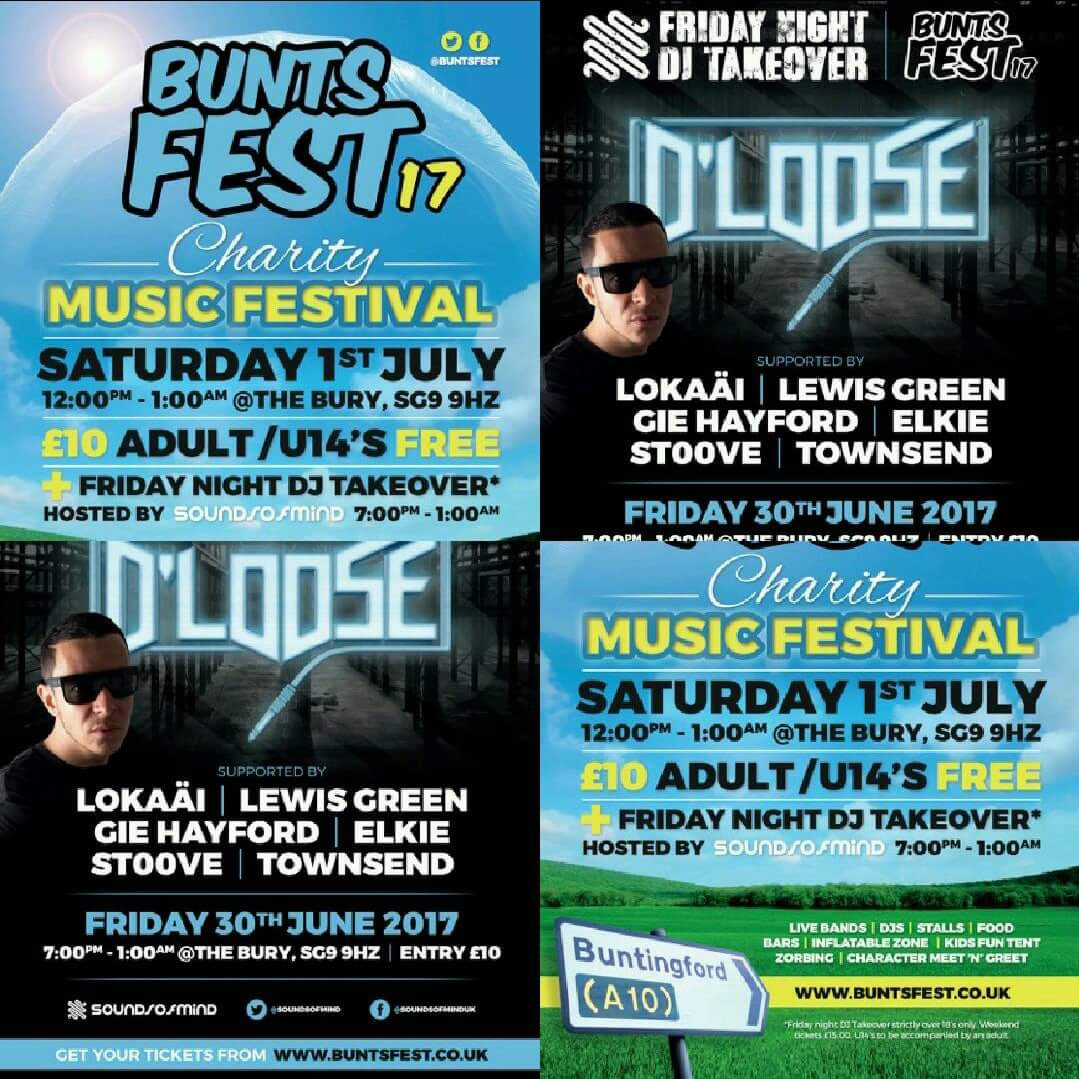 Time to plan next weekend now.. #buntsfest17 2 nights 1 day #FestivalSeason #charity #music #djlife #Herts tickets   http:// bit.ly/2tJymeK  &nbsp;  <br>http://pic.twitter.com/Lv1baREODP